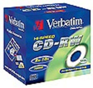 CD-RW Verbatim 8-10x(309100014)