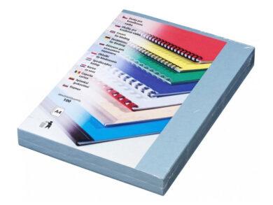 Desky kartónové DELTA A4/100ks, světle modré(174460019)