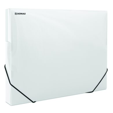 Box na spisy A4 - PP bílý s gumou(174460162)