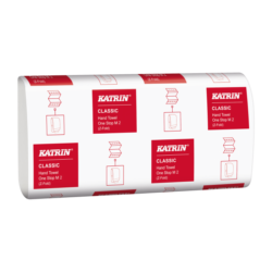 Ručníky papírové skládané Katrin Classic One Stop , 2vrstvý, 3360 ks/kart.