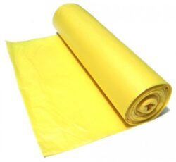 Pytel koš 70x110 cm typ 60 role LDPE žlutý