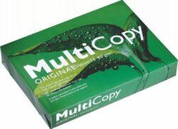 Papír A4, Multi Copy 500ls, 80g-Multicopy A4, 80g, 500 archů v balení