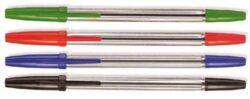 Tužka kuličková jednorázová, zelená