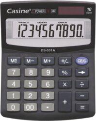 Kalkulačka Casine CS-351A-Kalkulačka s10-ti místným displejem.