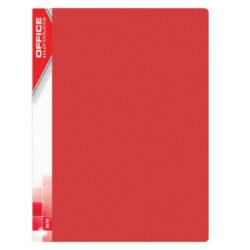 Katalogová kniha PP, A4, 40 kapes, červená-Katalogová kniha A4 PP, 40 kapes, červená