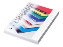 Desky kartónové CHROMO A4/100ks, bílé-Kartonové desky, z jedné strany barevný leštěný povrch. Druhá strana bílá matná, 220 g/m2.