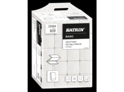 Ručníky papírové ZZ Katrin Basic 2 vrstvé, 4000 ks/kart.