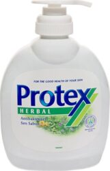 Mýdlo tekuté PROTEX 300 ml s pumpou-Tekuté antibakteriální mýdlo Protex Herbal 300 ml.