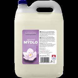 Mýdlo pěnové LAVON 5l-Pěnové mýdlo Lavon 5l divoká orchidea