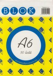 Blok A6 /50ls čistý REC