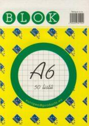 Blok A6 /50ls čtvereček REC