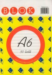 Blok A6 /50ls linka REC