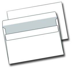 Obálka C5 bílá samolepící 1000ks/kr