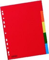 Rozlišovač A4, papírový, 5 barev