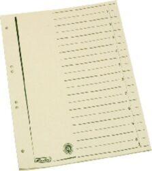 Rozlišovač A4, papírový odstřihávací 10 ls
