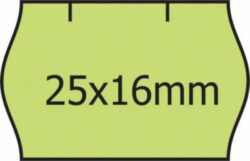 Etikety CONTACT/METO 25x16, reflex.