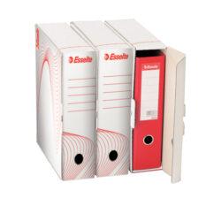Krabice archivační Esselte na pořadač bílá