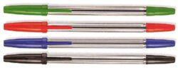 Tužka kuličková jednorázová, modrá