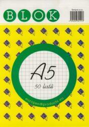 Blok A5 /50ls čtvereček REC