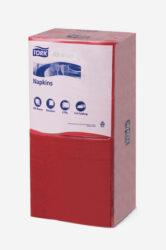 Ubrousky Tork Advanced 33x33, 2vrst./250, červené
