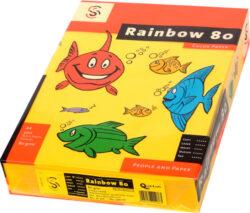 Papír A4 Rainbow 80g, intenz.žlutý,500ls
