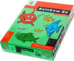 Papír A4 Rainbow 80g, i.tm.zelený, 500ls
