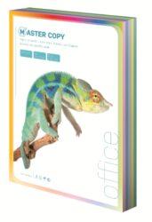 Papír A4 ofsetový 80g, pastel mix barev,5x100 l