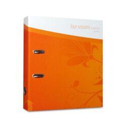 Pořadač pákový A4 Imagination AUTUMN oranžový-Nová kolekce pákových pořadačů.