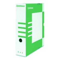 Krabice archivační hřbet 80 mm, zelená