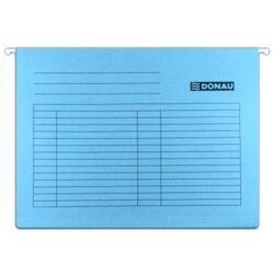 "Desky závěsné DONAU, typ""V"", modré-Závěsné desky do karotéky na formát A4."