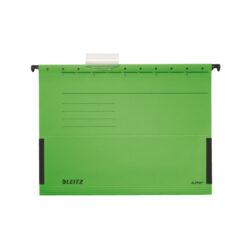 """Desky závěs.Leitz,""""V""""kapsa,zelené"""