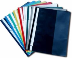 Rychlovazač plast. A4, tm.modrý
