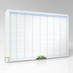 Tabule magnetická týdenní 60x90-Kancelářská plánovací tabule pro profesionální využití.
