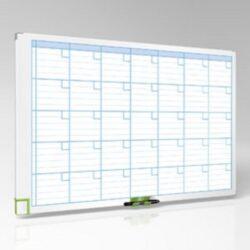 Tabule magnetická měsíční 90x60 cm-Kancelářská plánovací tabule pro profesionální využití.