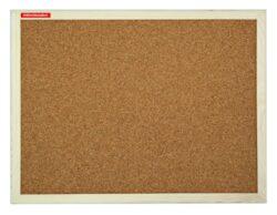 Tabule korková dřevěný rám 40x60cm-Jednostranná korková tabule v dřevěném rámu. Sada pro připevnění na zeď součástí balení.
