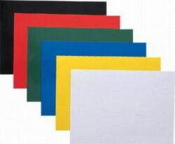 Desky pro krouž. vazbu A4 chromolux,čern-Vysoce leštěné černé kartonové desky 250 g/m2. Používané jako zadní strany kroužkové vazby.