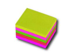 Bloček samolepící neon mix 50x50, 250ls