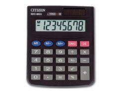 Kalkulačka Citizen SDC 805-Kalkulačka s 8-mi místným displejem.