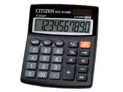 Kalkulačka Citizen SDC 810-Kalkulačka s 10-ti místným displejem.