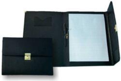 Desky konferenční - portfolio A4 852 černá