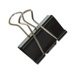 Klip na dokumenty 15mm černý(174450007)