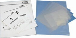 Folie laminovací 60x91 / 250mic (2x125) Business Card-Průhledné lesklé kapsy pro laminování dokumentů, 60x91 mm, 250 (2x125) µm. U kapes je počítáno s přesahem. V balení 100 kusů.