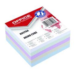 Blok poznámkový 9x9cm, nelepený, mix barev