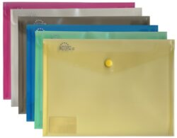 Desky spis. A4 PVC kapsa na vizit.žluté