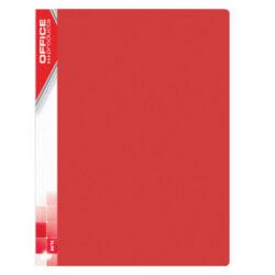 Katalogová kniha PP, A4, 10 kapes, červená