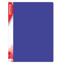 Katalogová kniha PP, A4, 10 kapes, modrá-Katalogová kniha A4 PP, 10 kapes, modrá