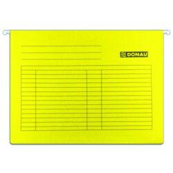 """Desky závěsné DONAU, typ""""V"""", žluté-Závěsné desky do karotéky na formát A4."""
