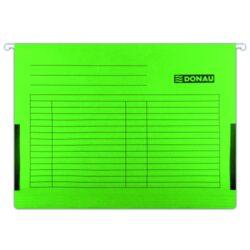 Desky závěsné s bočnicemi DONAU zelené-Závěsné desky do karotéky na formát A4.