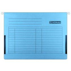 Desky závěsné s bočnicemi DONAU modré-Závěsné desky do karotéky na formát A4.