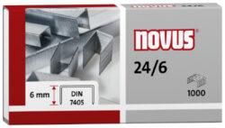 Drátky do sešívačky Novus 24/6, 1000ks-Drátky 24/6 - 1000 ks
